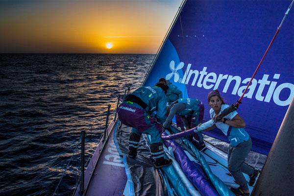 'Ook in de Volvo Ocean Race is de eindgebruiker heilig'